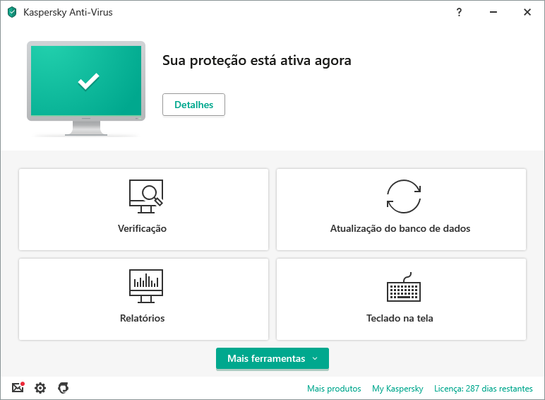Kaspersky Anti-Virus content/pt-br/images/b2c/product-screenshot/1 FL19 Main UI (green state) KAV PT-BR.png