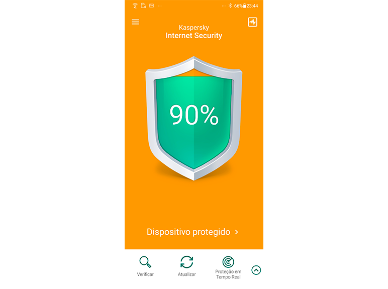 Kaspersky Internet Security for Android content/pt-br/images/b2c/product-screenshot/2 FL19 Main UI full w-side menu (green state) for Smartphone KISA PT-BR.png