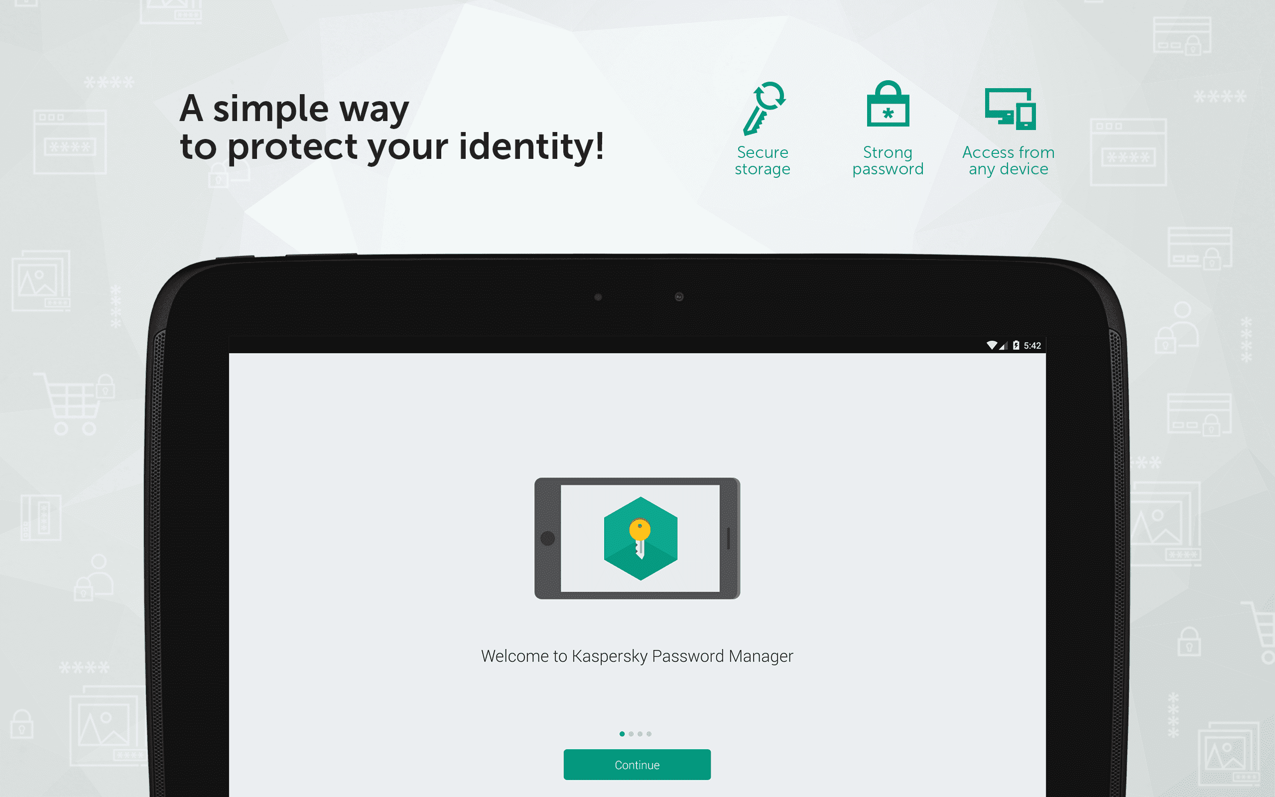 Kaspersky Password Manager Screenshot