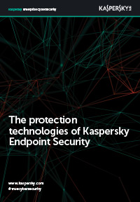 As tecnologias de proteção do Kaspersky Endpoint Security for Business