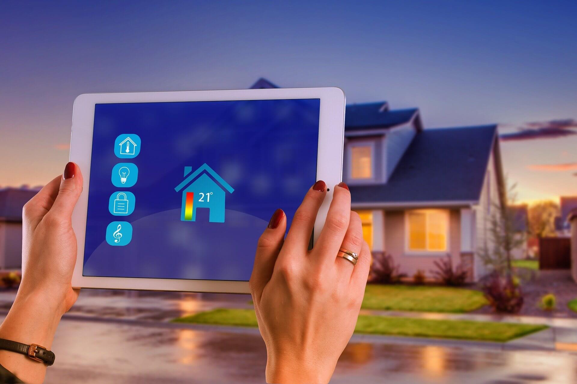 como manter a segurança de uma casa inteligente