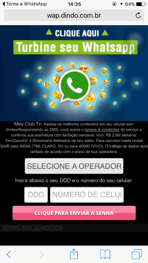 Whatsapp Scam 3