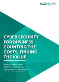 CYBERSECURITY FOR BUSINESS - FAZER AS CONTAS PARA DETERMINAR O VALOR